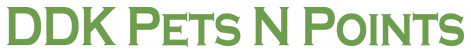 DDK Pets N Points Logo